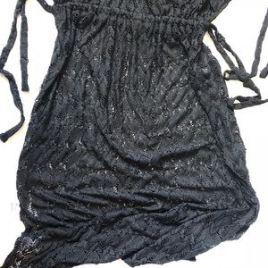 8a677c6ebfd torrid Swim - Torrid Lace Maxi Swim Cover-Up V-neck Side Slits